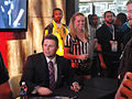 E3 2011 - signing at the WWE 12 booth (THQ) (5831104824).jpg