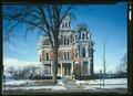 EAST FRONT ELEVATION - J. Monroe Parker House, Main and Twelfth Streets, Davenport, Scott County, IA HABS IOWA,82-DAVPO,5-15 (CT).tif
