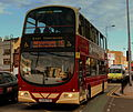 EAST YORKSHIRE MOTOR SERVICES WRIGHTBUS GEMINI 2 ROUTE 115 NEAR HULL INTERCHANGE EAST YORKSHIRE SEP 2013 (9696956883).jpg