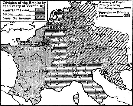 EB1911 Europe - Charlemagne's empire at its greatest extent EB1911 Europe - Charlemagne's empire at its greatest extent.jpg