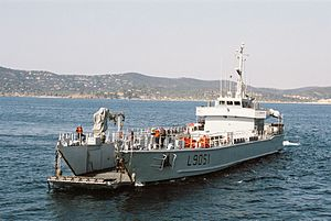 Mistral-class amphibious assault ship - Landing craft Sabre