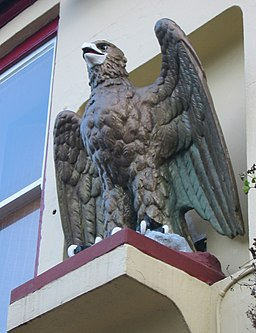 Eagle Tavern pub sign Jersey