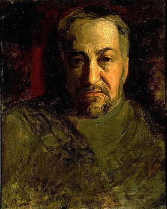 Charles Bregler - Self-portrait (c. 1902) by Thomas Eakins, Hirshhorn Museum and Sculpture Garden