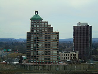 East Hartford, Connecticut - The skyline near the Connecticut River