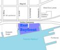 East Bayfront map.png