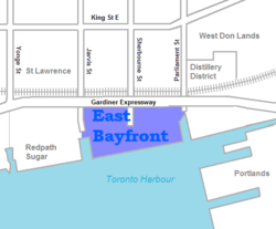 East Bayfront map.png