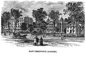 East Greenwich Academy - East Greenwich Academy, ca. 1890