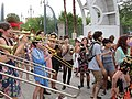 Easter Sunday in New Orleans - Brass Band Jam by Armstrong Arch 02.jpg
