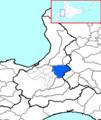 Ebetsu in Ishikari Subprefecture.png