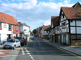 Edenbridge, Kent town in Kent, England