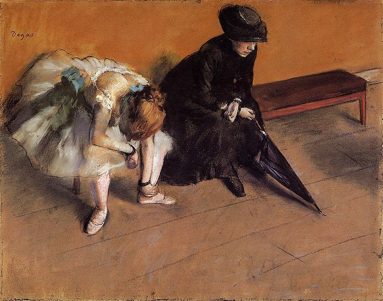 Archivo: Edgar Degas Waiting.jpg