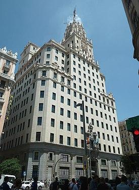 Edificio Telefónica (Gran Vía 28, Madrid) 06.jpg