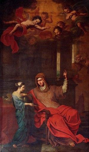 Englebert Fisen - Image: Education de la Vierge par Ste Anne