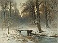 Een januari-avond in het Haagse bos Rijksmuseum SK-A-1164.jpeg