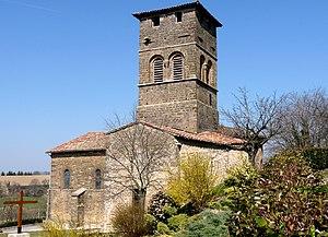 Arthémonay - The church of Arthémonay