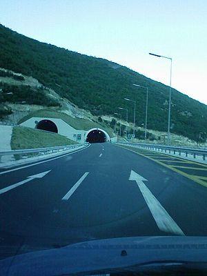 Egnatia Odos (modern road) - Image: Egnatia 2