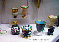 Egypt was first to create glass objects. [citation needed]