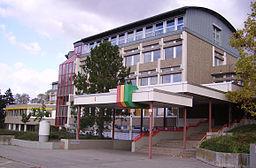 Eingang Schulzentrum Schifferstadt 2
