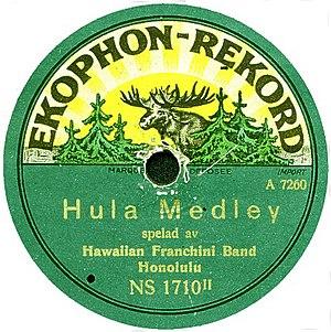 Example of the German-Swedish Ekophon record l...