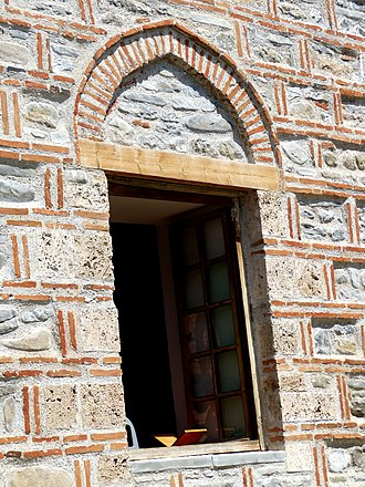 King Mosque, Elbasan - Turkish-style door of the mosque