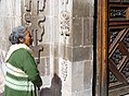 Elderly Woman with Church Doorway - Guanajuato - Mexico (39119830511).jpg