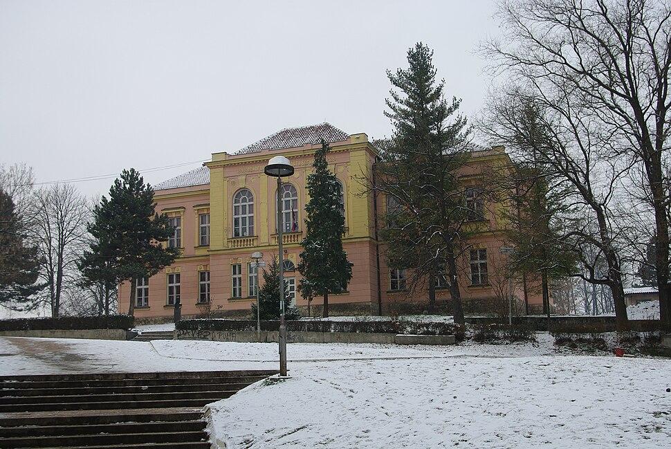 Elementary school Anta Bogicevic in Loznica