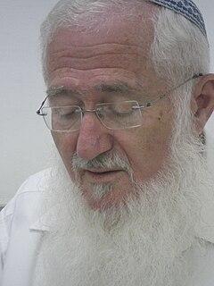Eliezer Waldman Israeli politician and rabbi