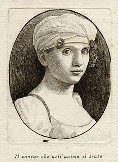 Elisabetta Manfredini-Guarmani Italian opera singer 1780-1828