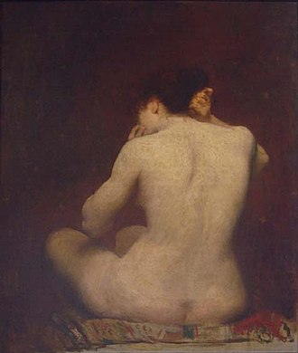 Eliseu Visconti - Image: Eliseu Visconti Dorso de mulher 02