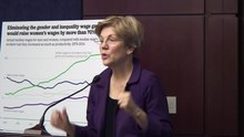 Fitxer:Elizabeth Warren- A minimum wage job saved my family.webm