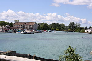 Elk Rapids, Michigan - Elk River.
