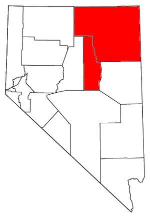 Elko, Nevada micropolitan area - Image: Elko Micropolitan Area