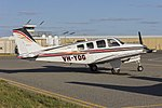 Elliott Holdings Pty Ltd (VH-YDG) Raytheon A36 Bonanza at Wagga Wagga Airport.jpg