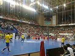 Palacio de deportes de murcia wikipedia la enciclopedia libre - Pabellon de deportes madrid ...