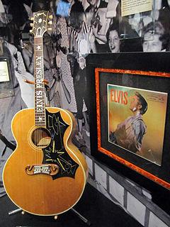 Elvis Presleys guitars