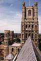 Ely Cathedral west tower from the Octagon Tower - geograph.org.uk - 478192.jpg