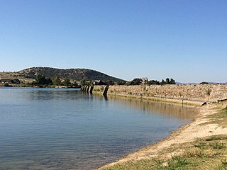 Proserpina Dam Dam in Badajoz (province), Extremadura, Spain