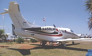 Embraer 500 Phenom 100 displayed at Lakeland, ...