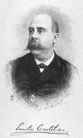 Virginius Affair - Emilio Castelar, President of Spain