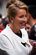 Photo of Emma Thompson at the premiere of Last Chance Harvey.