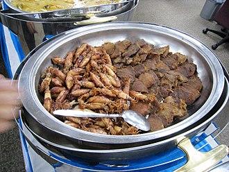 Gepuk - Image: Empal Gepuk Daging and Cumi Asin