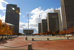 L'Empire Plaza in autunno