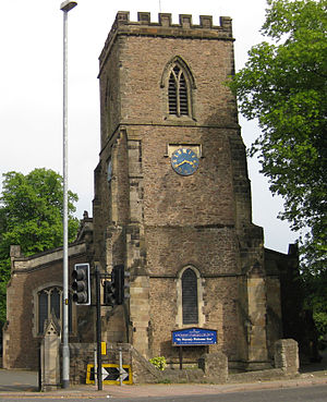 Enderby, Leicestershire - Image: Enderby Parish Church 2011