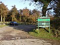 Entrance to Hensol carpark and picnic site - geograph.org.uk - 1036755.jpg