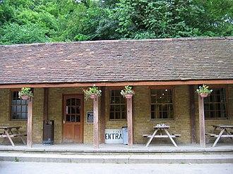 Chislehurst - Chislehurst Caves entrance