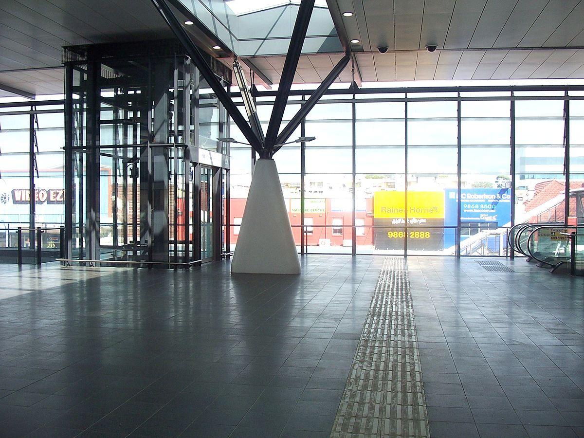 epping railway station  sydney