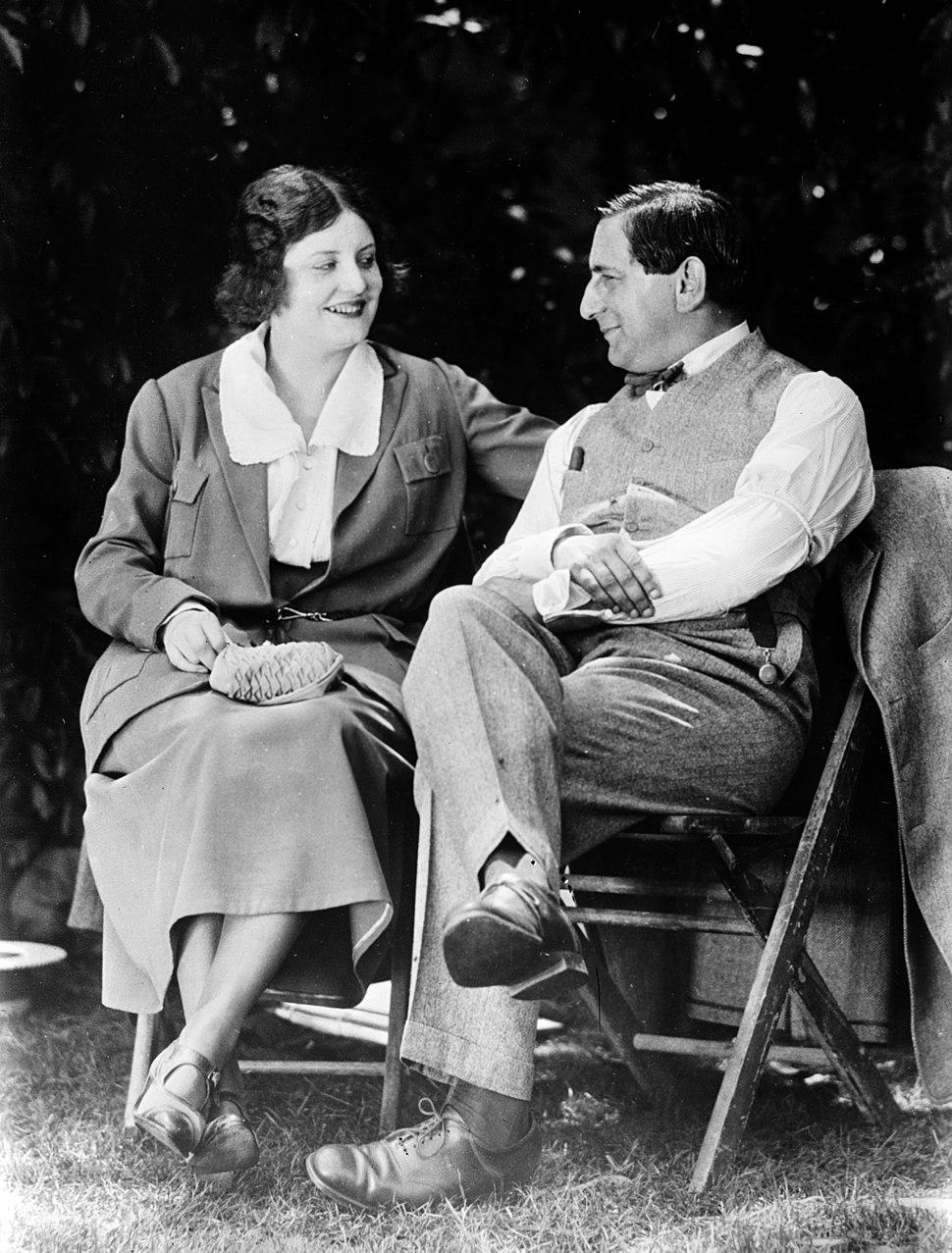 Ernst Lubitsch and wife