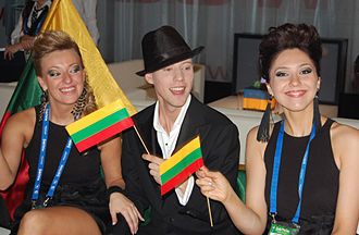 Lithuania in the Eurovision Song Contest - Image: Esc son