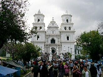 Esquipulas - Esquipulas Basilica en 2010.