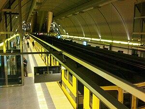 Corrientes (Buenos Aires Underground) - Image: Estación Corrientes